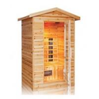 Buy cheap 3person outdoor infrared sauna cabin from wholesalers