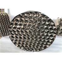 Buy cheap High Efficiency 304 Metal Tower Packing Low Resistance For Fractional  Distillation from wholesalers