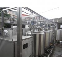 Buy cheap Tub Type 1 T/H Automatic Dairy Production Line For Milk / Stirred Yogurt from wholesalers