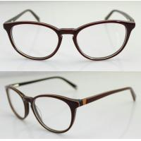 Buy cheap Custom Hand Made Acetate Women Optical Frame , Oval Acetate Eyeglasses Frames from wholesalers
