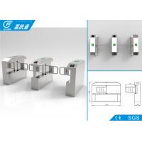 Buy cheap Building Entrance Security Swing Gate Turnstile Automation Single Direction from wholesalers
