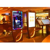 Buy cheap Custom Interactive Touch Screen Kiosk 300~400 nits Brightness For Subway / Airports from wholesalers