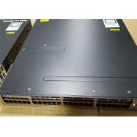 Buy cheap Catalyst 3750X 48 Port Used Network EquipmentSwitch Flexible NetFlow CE Approval from wholesalers