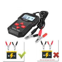 Buy cheap Backlit LCD Screen Car Diagnostic Tools  , 12V Universal CCA Batteries Tester With Printer from wholesalers