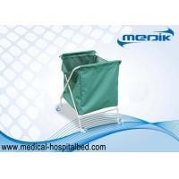 Buy cheap Laundry Clinical Trolleys For Collecting Dirty Clothing With One Green Bag from wholesalers