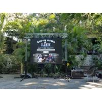 Buy cheap Rental Full Color LED Curtain Display , P3 Stage Background Video Wall Screen from wholesalers