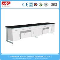 Buy cheap Chemical Laboratory Wall Bench Solid Gray White Epoxy Resin Board from wholesalers