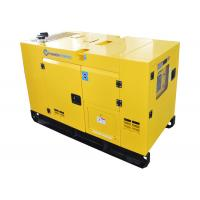 Buy cheap Emergency Three - Phase Diesel Power Generator Soundproof Water Cooled from wholesalers