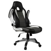 Executive Office Chair PU Leather Racing Style Bucket Desk Seat Chair Manufactures