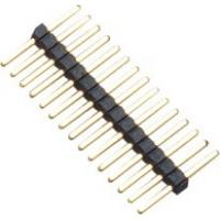 Wholesale 1.0mm 1*15P DIP PA9T Black Single Pin Header Connector Pe Bag For PCB Board from china suppliers