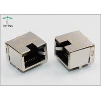 Buy cheap Halogen - Free RJ45 Female Connector With LED For NIC / Network Splitters / IP Camera / VOIP from wholesalers