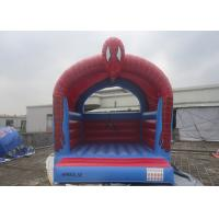 Buy cheap Customize Inflatable Spiderman Jumping Castle / Spiderman Inflatable Bouncer For Kids from wholesalers