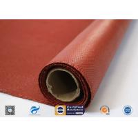 Buy cheap Heat Resistance Fiberglass Fabric Roll / Silicone Coated Fiberglass Fire Protection Cloth from wholesalers