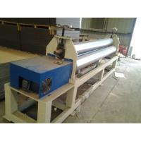 Buy cheap 120kw Plastic Auxiliary Equipment 3 Roller Rolling Plate Leveling Machine / Spiral Coil Winding Machine from wholesalers