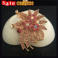Buy cheap Wedding Brooch Bouquet ,Large Crystal Brooches,Big Wedding Party Dress Suit Brooch Pin from wholesalers