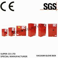 Buy cheap Fire Proof Chemical Flammable Liquids Storage Cabinets powder coatedRed Paint product