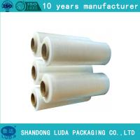 Buy cheap LLDPE stretch film pallet wrap plastic packaging film hand roll filme stretch from wholesalers