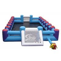 Buy cheap Commercial human inflatable football pitch for outdoor sport games from wholesalers