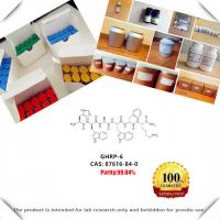 Buy cheap Generic peptide GHRP-6/ Growth hormone releasing peptide CAS 87616-84-0 Free shipping from wholesalers