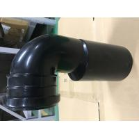 Wholesale Toilet Black Plastic Drain Pipe For Hang Wall Type Toilet Seat To Hide Water Tank Fittings from china suppliers