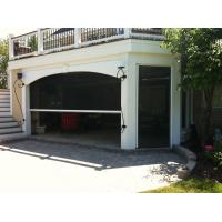Buy cheap No bottom rail motorized retractable screen for balcony and garage door from wholesalers