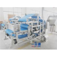 Buy cheap Continuous Belt Filter Press Industrial Juicer Machine For Fruits And Vegetables from wholesalers
