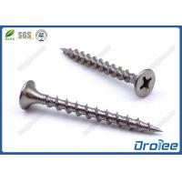 Buy cheap Passivated 410 Stainless Steel Bugle Head Coarse Thread Drywall Screws from wholesalers