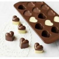 Wholesale Lovely heart shape chocolate Ice cube silicone mold from china suppliers