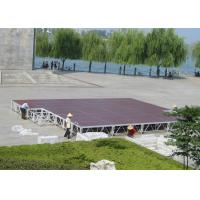 Wholesale Deep Red Aluminum Stage Platform 1.22 x 2.44 Meter Easy Installation from china suppliers