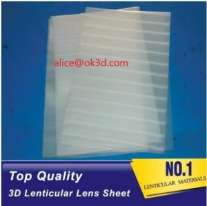 Wholesale Injekt lenticular materials Polystrere material 3mm Thickness Plastic Lenticular plate thick lenticular material from china suppliers