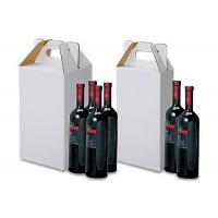 Buy cheap Red Wine Bottle Shipping Box Corrugated Board Paper Material SGS Approval from wholesalers