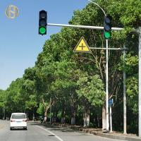 Buy cheap 2.5mm - 14mm Thickness Traffic Light Post Shaft Cantilever Powder Coated from wholesalers