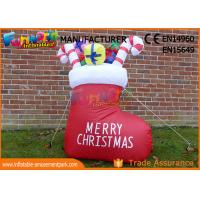 Wholesale Boot or Snowman Inflatable Christmas Decorations with 1 Year Warranty from china suppliers