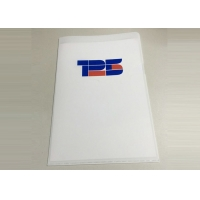 Buy cheap cheap PP L shape folder for school and office in size 22*31 CM from wholesalers