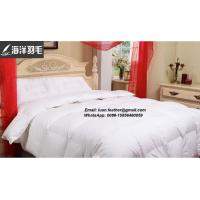 Buy cheap Oeko-Tex Certificated light soft white goose down quilt for 5 star hotel from wholesalers