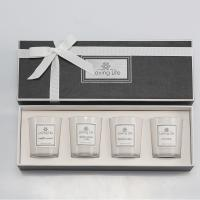 Buy cheap Birthday Gift Home Decoration Scented Soy Wax Candle Set With Luxury Ribbon Box from wholesalers