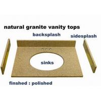 Buy cheap Natural cultured marble/ granite vanity tops with Quality Assurance from wholesalers