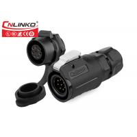 Buy cheap Cnlinko M16 8pin female sockets cable connector male plug electric industrial connectors monitor Signal Equipment from wholesalers