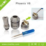 Mechincal mod electronic cigarette phoenix V 6 rebuildable atomizer Manufactures