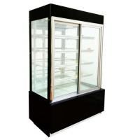 Buy cheap Curved Glass Door with 3 Shelf Cake Showcase for Cake and Snack in Bakery Shop from wholesalers