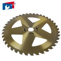 Buy cheap 255mm TCT Grass Cutter Blade with 30mm Hole diameter for Bush Bamboo from wholesalers