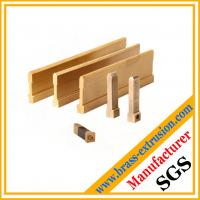 China C38500 CuZn39Pb3  CuZn39Pb2 CW612N C37700 metal parts extrusion profile copper brass material on sale