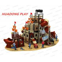 Buy cheap Pirates Ship Series Outdoor Playground Equipment Slide HD-HDD012-19142 product