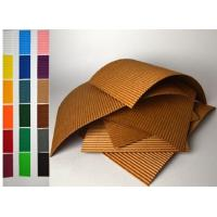 China Colorful Corrugated Cardboard Sheet For Carton Box Recycled Materials on sale
