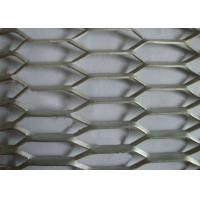 Buy cheap Reinforcing 2MM*10MM*8MM* Aluminum Expanded Metal Mesh For Protection from wholesalers
