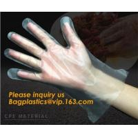 Buy cheap Disposable Plastic Polythene PE Gloves Cleaning Prepare Food,STERILE TWO FINGER GLOVES IN POLYETHYLENE, small packing PE from wholesalers