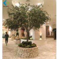 Wholesale Christmas Artificial Weeping Willow For Landscape Decoration Fiberglass Material from china suppliers
