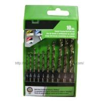 Wholesale 10PC HSS Twist Drill Set from china suppliers