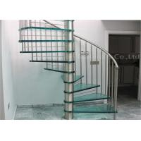 Buy cheap China supplier latest modern sprial staircase stainless steel railing customize spiral staircase from wholesalers
