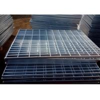 Buy cheap Electro Galvanized Metal Grating 25 X 3mm Oil Proof For Building Material from wholesalers
